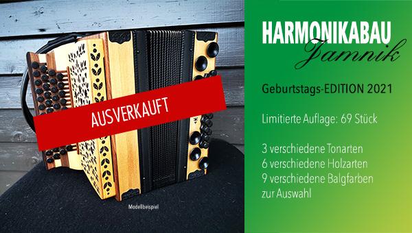 Geburtstags-Edition Jamnik Harmonika 2021