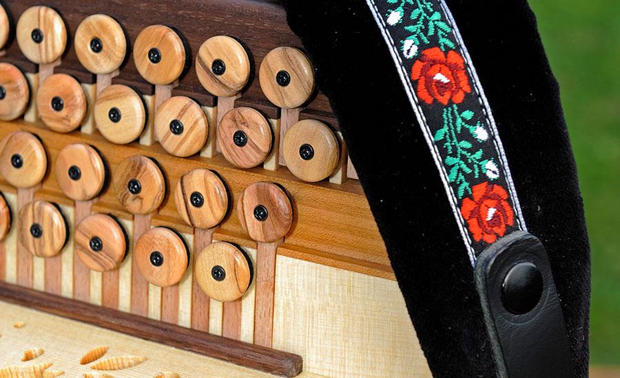Harmonika Classic-Modell Knöpfe
