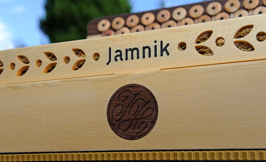 Harmonika Classic-Modell Jamnik Logo