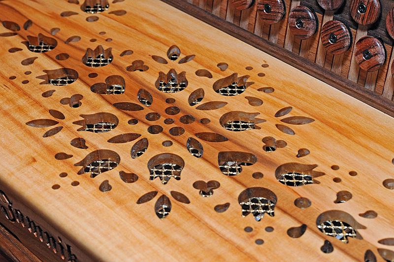 Steirische Harmonika Apfelholz Verdeck