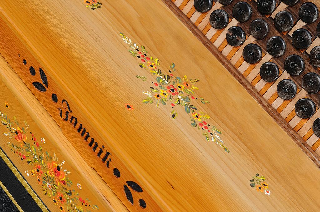 Steirische Harmonika Eibe Verdeck