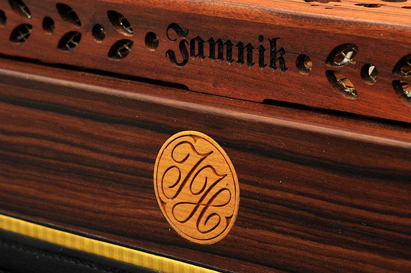 Steirische Harmonika Königsholz Dekor