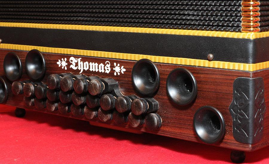 Steirische Harmonika Königsholz Basstrichter