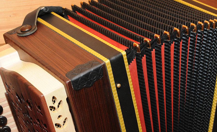 Steirische Harmonika Königsholz Balg
