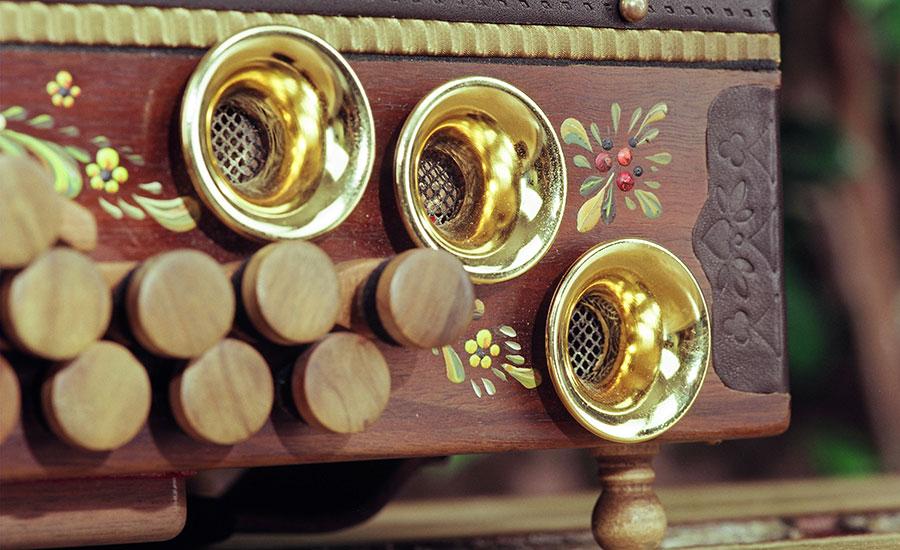 Jamnik Harmonika Walnuss Bassseite