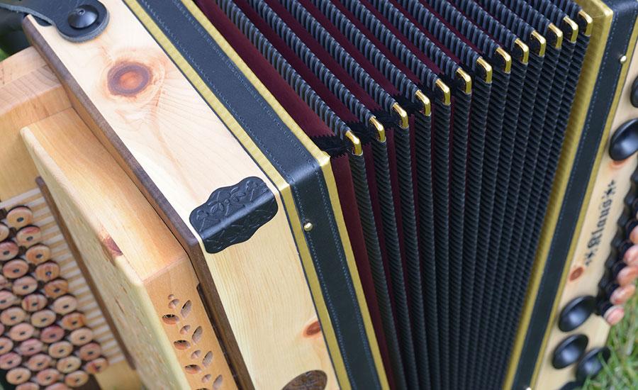 Steirische Harmonika Zirbe Balg
