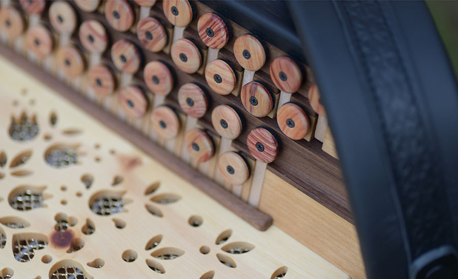 Steirische Harmonika Zirbe Diskant