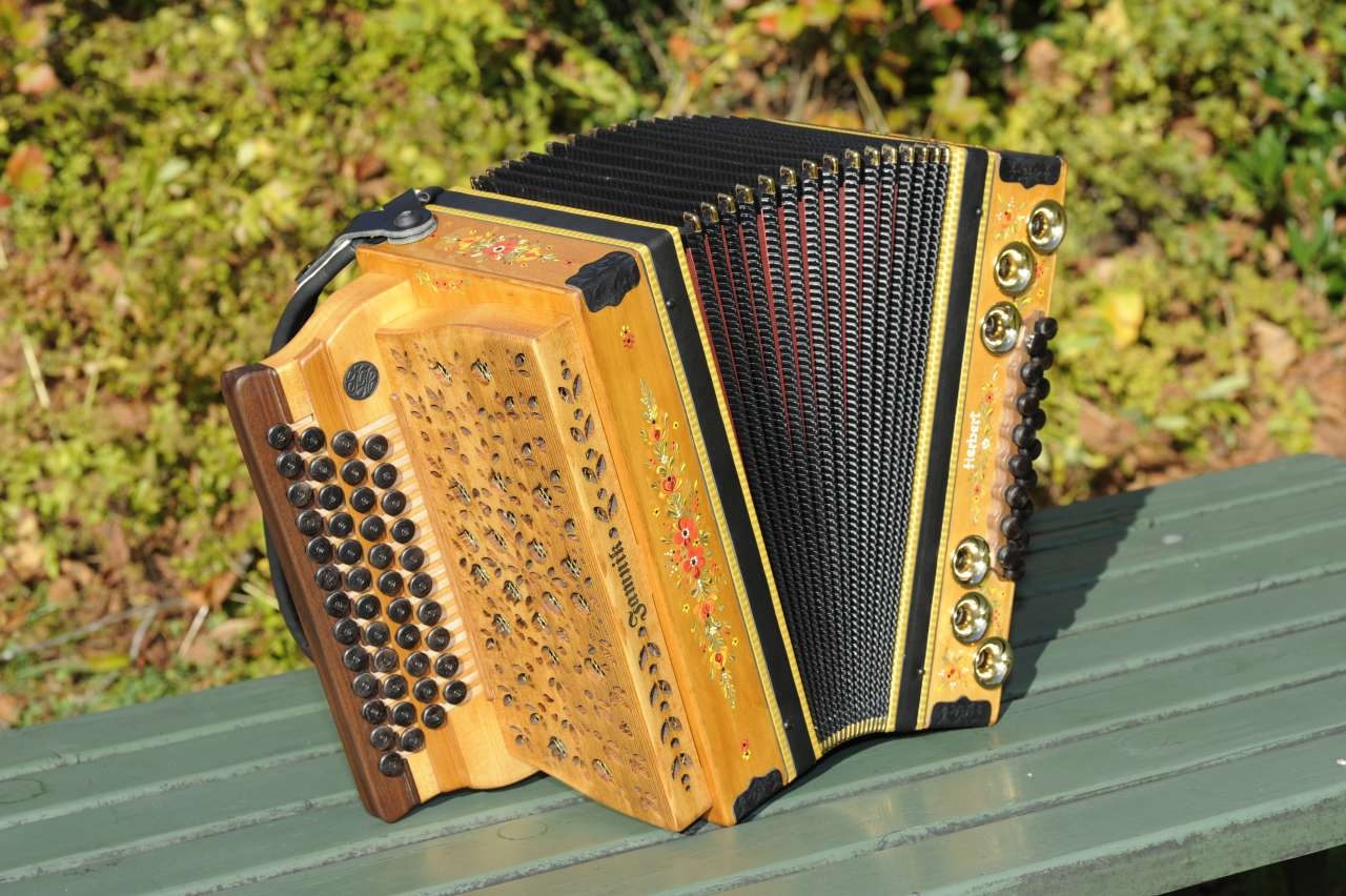 Herbert Pixner Harmonika von vorne
